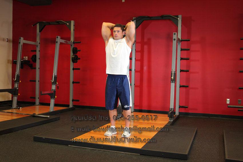 Standing-Dumbbell-Triceps-Extension-Men-2