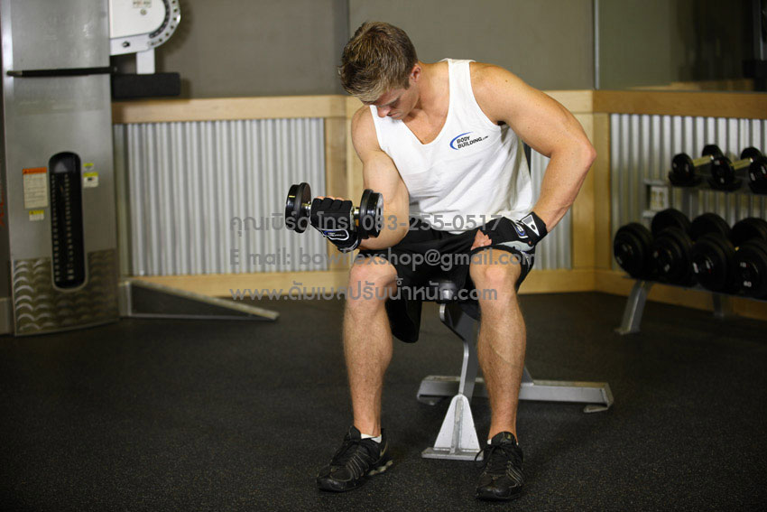 Seated-One-Arm-Dumbbell-Palms-Up-Wrist-Curl-2